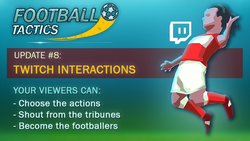 Update #8 of Football Tactics is released!