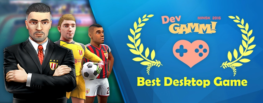 Football Tactics – Best Desktop Game on DevGAMM Awards 2016