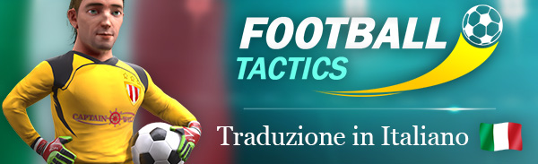 Football Tactics is available in Italian!