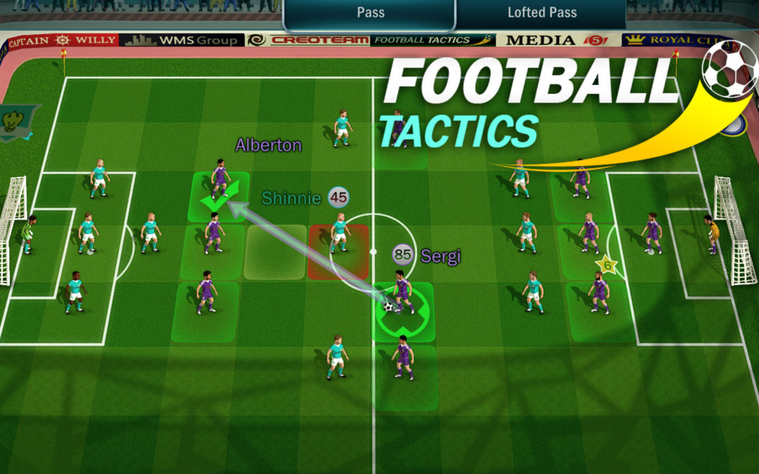 New trailer of Football Tactics