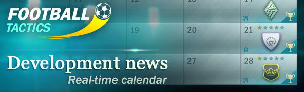 Development News – calendar