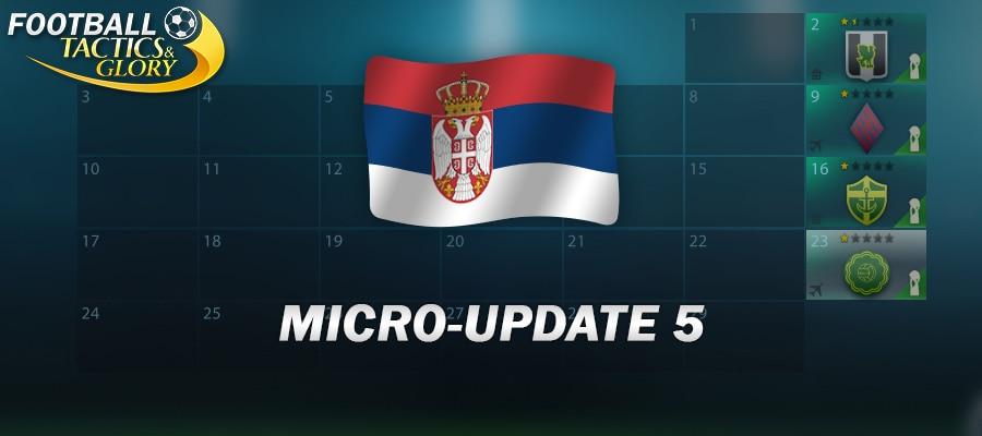 Micro-Update 5
