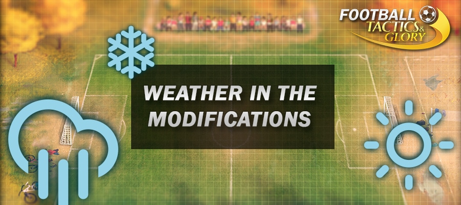 Editing weather in the modifications