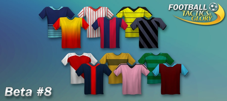 Beta Update #8 – New colours and shirts