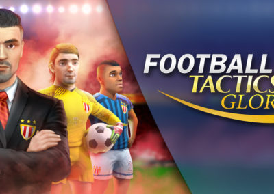 Press Kit – Football, Tactics & Glory | Creoteam