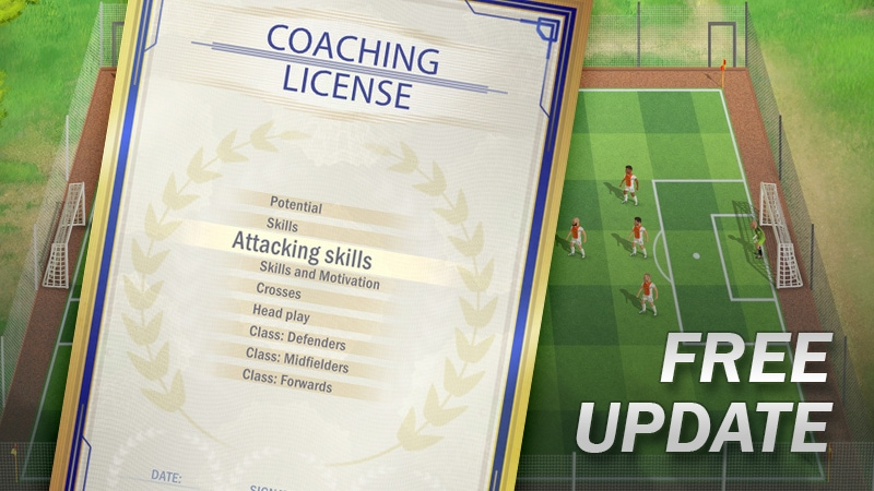 Free Update – Coaching License