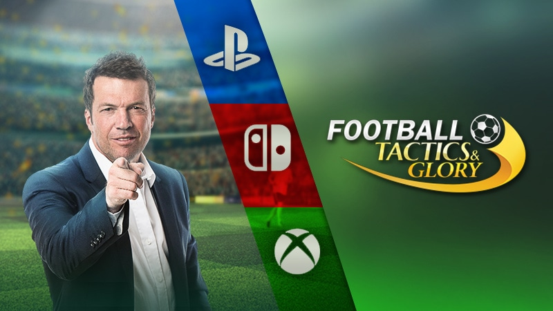 Football, Tactics & Glory released for consoles