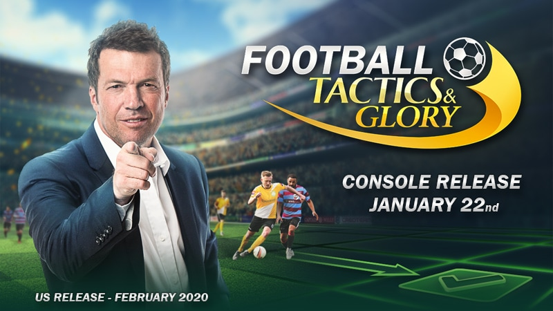 Football, Tactics & Glory is coming to consoles soon!